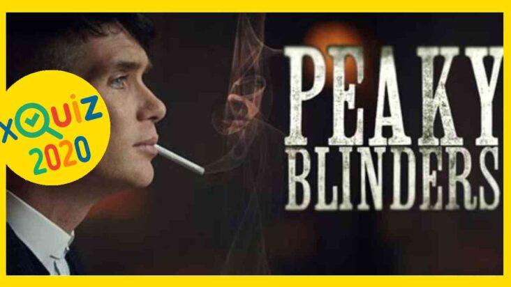 Peaky Blinder Quiz